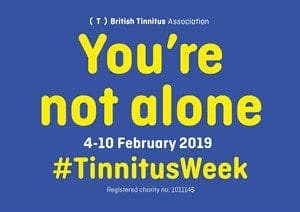 World Tinnitus Week 2019 focuses on tinnitus and isolation