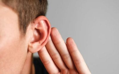 What conductive hearing loss sounds like